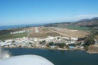 Half Moon Bay Airport (HAF) - Final 30 Half Moon Bay Arpt. - by R Hermann