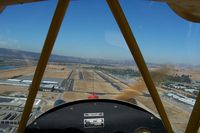 Livermore Municipal Airport (LVK) - Final to 25 Left at LVK - by R Hermann