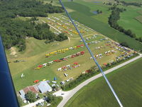 Antique Airfield Airport (IA27) - Antique Airfield at the height of the 2007 National AAA/APM Fly-in - by Photo Courtesy of Jeff Cain