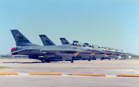 Randolph Afb Airport (RND) - 474th Tactical Fighter Wing line at Randolph AFB - by Zane Adams
