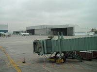 Toronto Pearson International Airport (Toronto/Lester B. Pearson International Airport, Pearson Airport), Toronto, Ontario Canada (CYYZ) - Hangar near Terminal 3 at Toronto Pearson Airport - by Ken Wang