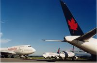 Vancouver International Airport, Vancouver, British Columbia Canada (YVR) - Air Canada grounded after Sep.11.2001 Twin Towers attack,New York - by metricbolt