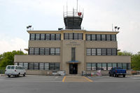 Martin State Airport (MTN) - restored art deco tower and terminal at Martin State Airport - by J.G. Handelman