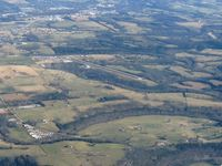 Carroll County Airport (4M1) - Westbound from 4500' - by Bob Simmermon