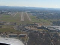 Springdale Municipal Airport (ASG) - On final for 18 - by Bob Simmermon