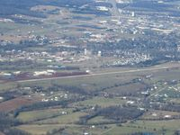 Farmington Regional Airport (FAM) - Looking north from 4500' - by Bob Simmermon