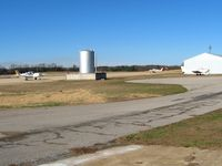 Houston Memorial Airport (M48) - Fuel farm - by Bob Simmermon