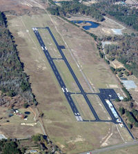 Panola County-sharpe Field Airport (4F2) - Looking north - by Carl Hennigan