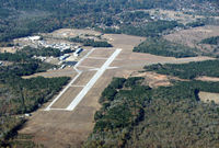 Harrison County Airport (ASL) - looking northwest - by Carl Hennigan