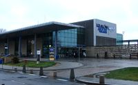 John Paul II International Airport Kraków-Balice, Kraków Poland (EPKK) - A landside view of Krakow International terminal - by Terry Fletcher