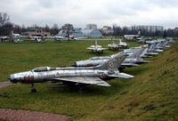 John Paul II International Airport Kraków-Balice - The external exhibits at the excellent Poland Aviation Museum in Krakow - by Terry Fletcher