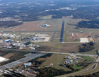 Shreveport Regional Airport (SHV) - Looking southeast - by Carl Hennigan