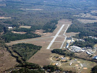 Harrison County Airport (ASL) - looking southeast - by Carl Hennigan