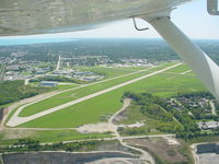 John H Batten Airport (RAC) - Climbing out of runway 4 - by Trace Lewis