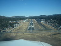 Big Bear City Airport (L35) - L35 Rwy08 Short Final - by COOL LAST SAMURAI