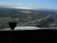 Santa Monica Municipal Airport (SMO) - SMO Rwy21 Final - by COOL LAST SAMURAI