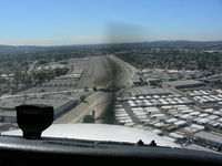 El Monte Airport (EMT) - EMT Rwy19 Short Final - by COOL LAST SAMURAI