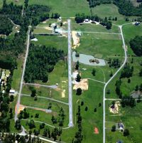 Gibbons Airport (12AR) - Aerial Photo - by Arkansas Department of Aeronautics