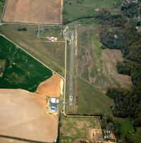 Bald Knob Municipal Airport (M74) - Aerial Photo - by Arkansas Department of Aeronautics