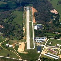 Carroll County Airport (4M1) - Aerial Photo - by Arkansas Department of Aeronautics