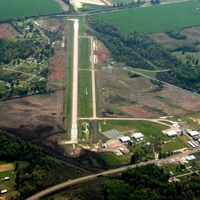 Frank Federer Memorial Airport (M36) - Aerial Photo - by Arkansas Department of Aeronautics