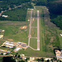 Harrell Field Airport (CDH) - Aerial Photo - by Arkansas Department of Aeronautics