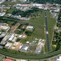 Dennis F Cantrell Field Airport (CWS) - Aerial Photo - by Arkansas Department of Aeronautics