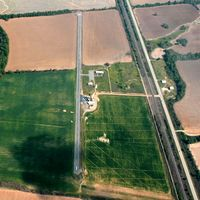 Dermott Municipal Airport (4M5) - Aerial Photo - by Arkansas Department of Aeronautics