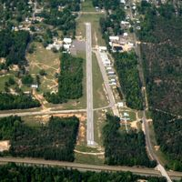 El Dorado Downtown-stevens Field Airport (F43) - Aerial Photo - by Arkansas Department of Aeronautics