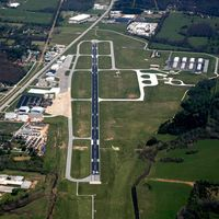 Drake Field Airport (FYV) - Aerial Photo - by Arkansas Department of Aeronautics