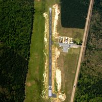 Fordyce Municipal Airport (5M4) - Aerial Photo - by Arkansas Department of Aeronautics