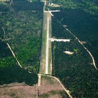 Hampton Municipal Airport (0R6) - Aerial Photo - by Arkansas Department of Aeronautics