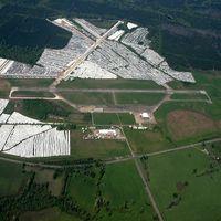 Hope Municipal Airport (M18) - Aerial Photo - by Arkansas Department of Aeronautics