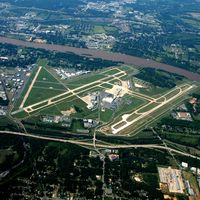 Bill And Hillary Clinton National/adams Fi Airport (LIT) - Aerial Photo - by Arkansas Department of Aeronautics