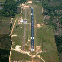 Magnolia Municipal Airport (AGO) - Aerial Photo - by Arkansas Department of Aeronautics