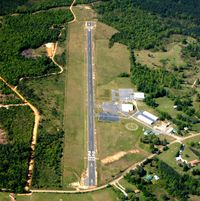 Malvern Municipal Airport (M78) - Aerial Photo - by Arkansas Department of Aeronautics