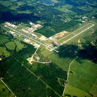 Mena Intermountain Municipal Airport (MEZ) - Aerial Photo - by Arkansas Department of Aeronautics
