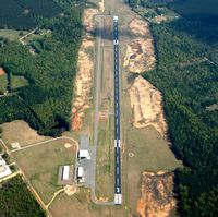 Monticello Muni/ellis Field Airport (LLQ) - Aerial Photo - by Arkansas Department of Aeronautics
