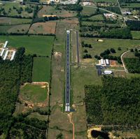 Morrilton Municipal Airport (BDQ) - Aerial Photo - by Arkansas Department of Aeronautics