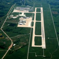 Northwest Arkansas Regional Airport (XNA) - Aerial Photo - by Arkansas Department of Aeronautics