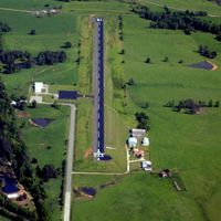 Howard County Airport (M77) - Aerial Photo - by Arkansas Department of Aeronautics