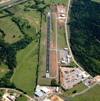 Ozark-franklin County Airport (7M5) - Aerial Photo - by Arkansas Department of Aeronautics