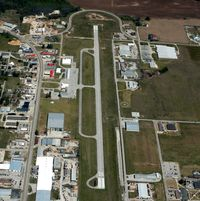 Pocahontas Municipal Airport (M70) - Aerial Photo - by Arkansas Department of Aeronautics