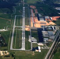Rogers Muni-carter Field Airport (ROG) - Aerial Photo - by Arkansas Department of Aeronautics
