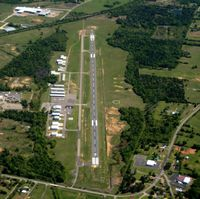 Russellville Regional Airport (RUE) - Aerial Photo - by Arkansas Department of Aeronautics