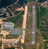 Saline County Regional Airport (SUZ) - Aerial Photo - by Arkansas Department of Aeronautics