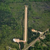 Wilson Airport (4F8) - Aerial Photo - by Arkansas Department of Aeronautics