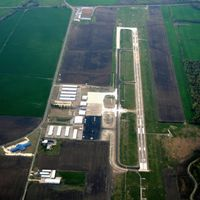 West Memphis Municipal Airport (AWM) - Aerial Photo - by Arkansas Department of Aeronautics