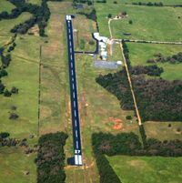 Waldron Municipal Airport (M27) - Aerial Photo - by Arkansas Department of Aeronautics