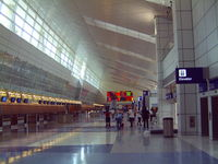 Dallas/fort Worth International Airport (DFW) - Open House at the new International Terminal D in 2004 - by Zane Adams